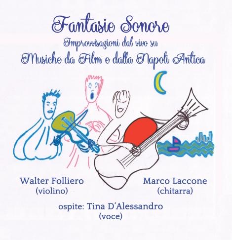 Fantasie Sonore - copertina cd